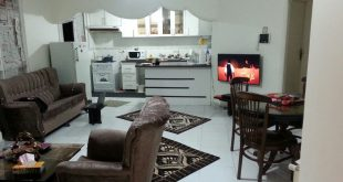 سوئیت منزل مسافرین در زمستان همدان